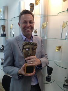 David and his BAFTA